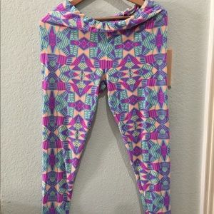 NWOT Neon LuLaRoe Leggings Super Soft!